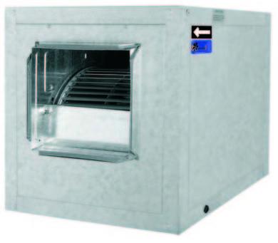 Ventiladores centrífugos de baja presión Ventilación Industrial Albacete