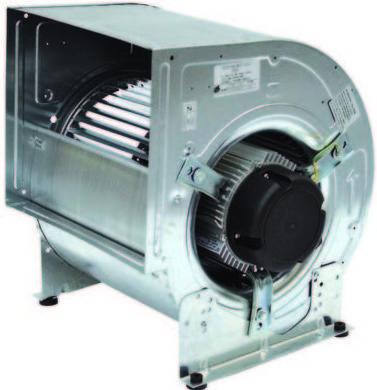 Ventiladores centrífugos de baja presión