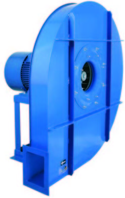 Ventiladores centrífugos de alta presión (Transporte neumático) Difusión y Ventilación Industrial Albacete