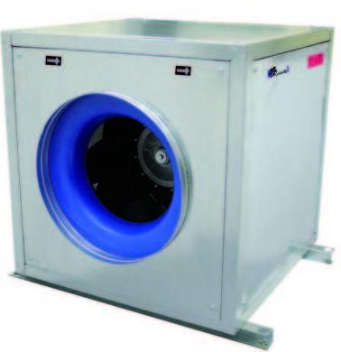 Extractores centrífugos inmersos zona de riesgo F400 Difusión y Ventilación Divent