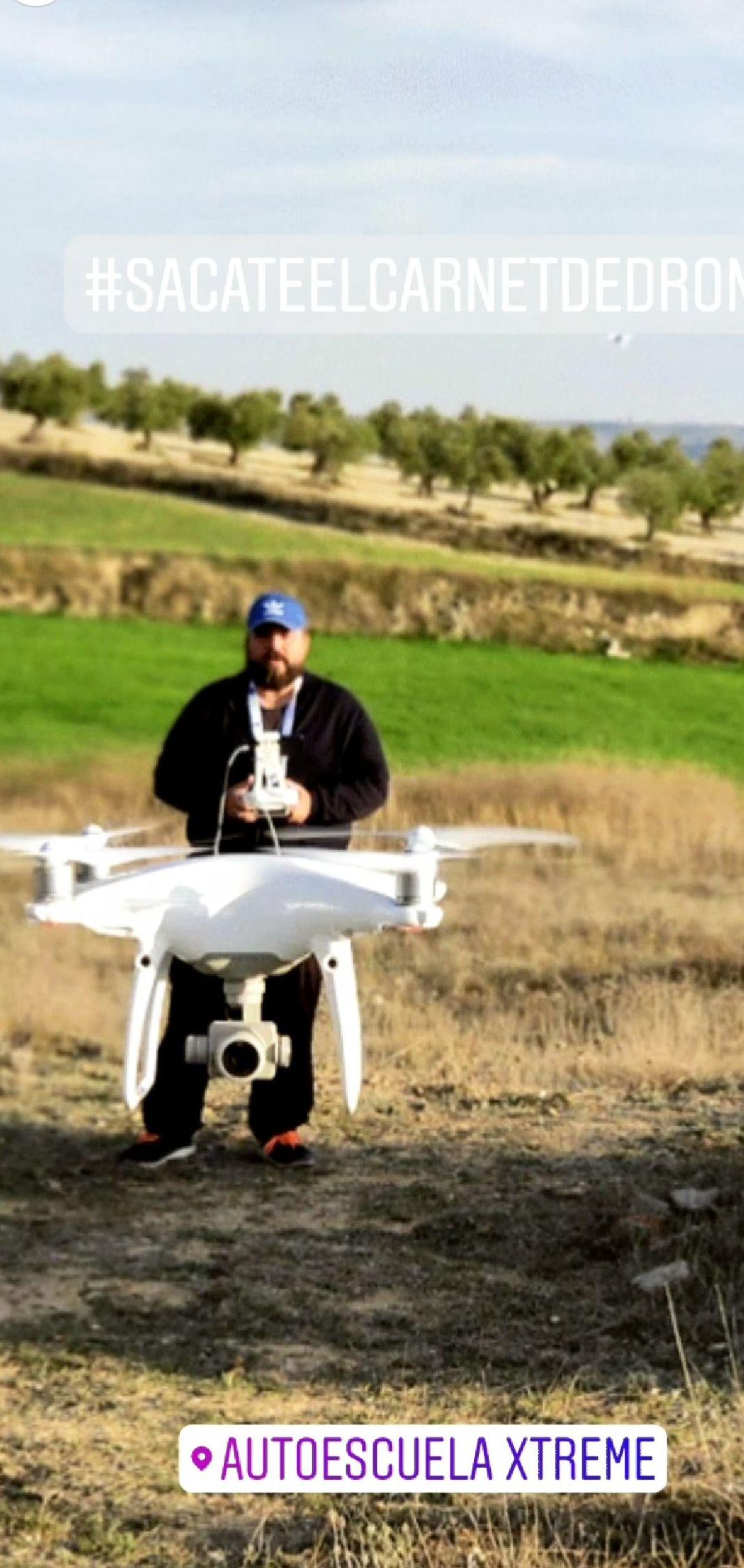 Carnet de drones en Madrid centro