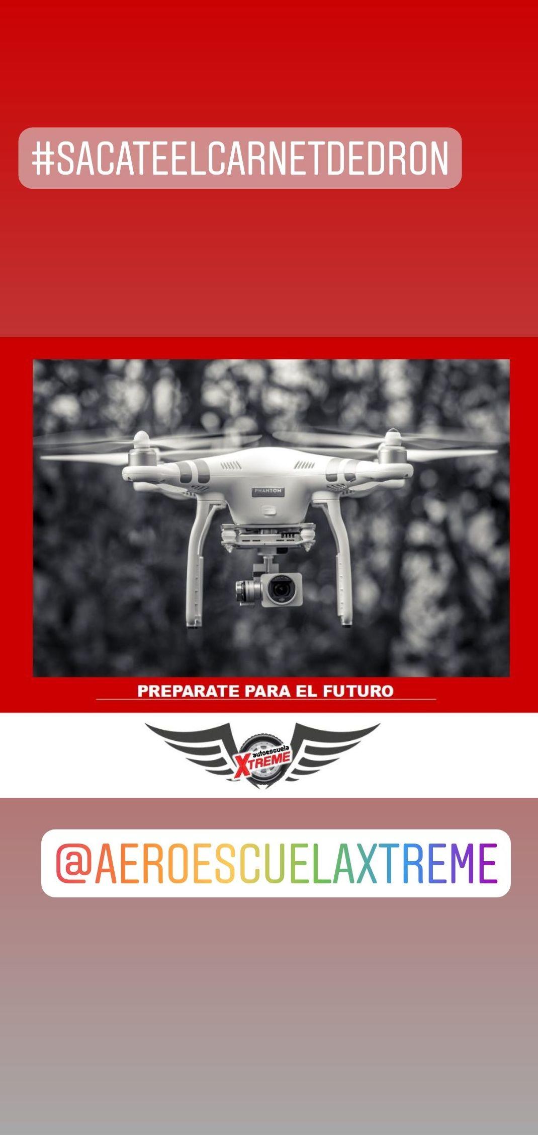 carnet de dron en Madrid centro