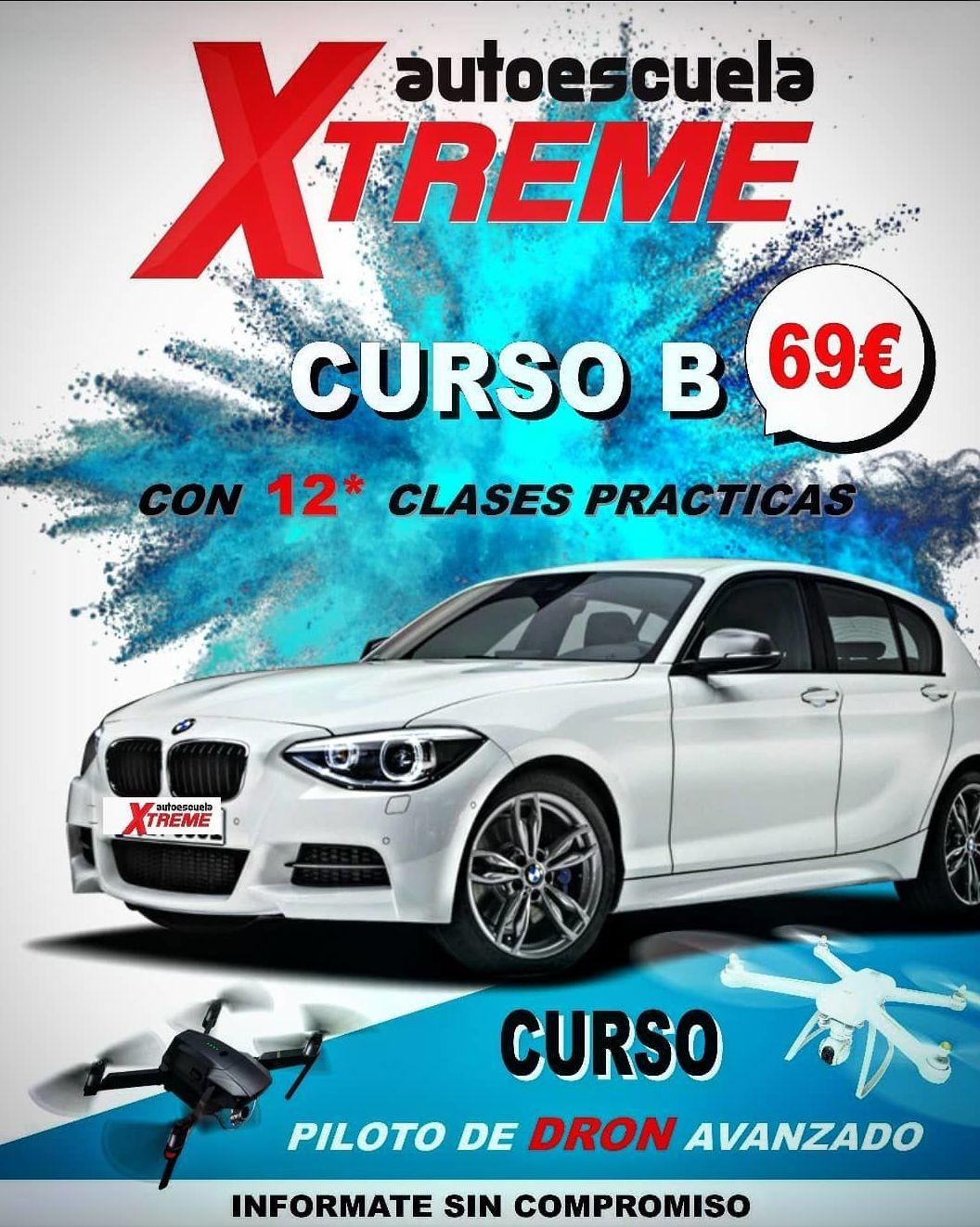 Promoción Curso carnet de conducir B en Madrid centro