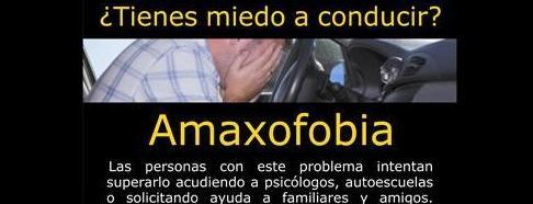 Amaxofobia