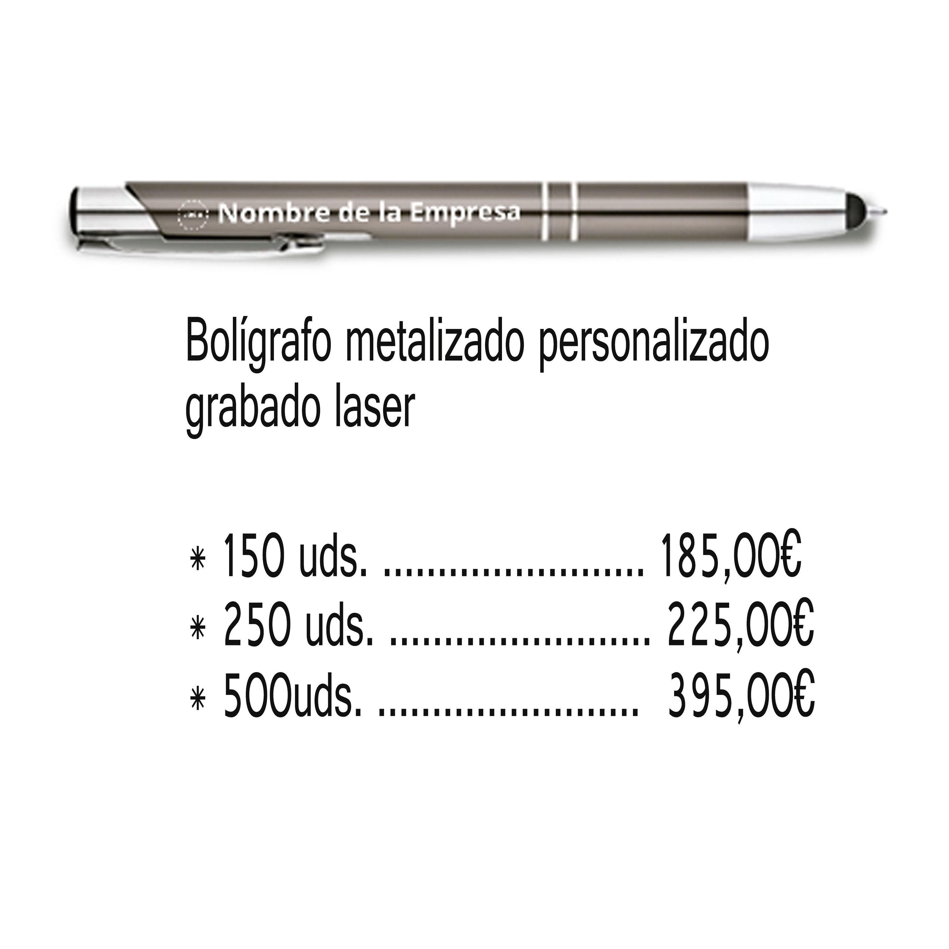 BOLIGRAFOS PUBLICIDAD