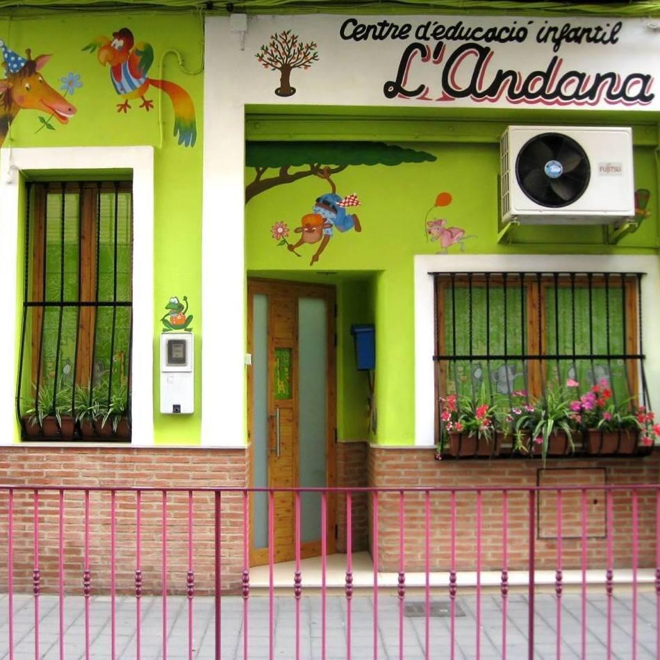 Foto 3 de Guarderías y escuelas infantiles en Alboraya | Centre d'Educació Infantil l'Andana