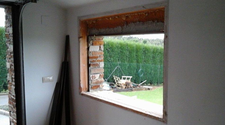 Realización de ventanas