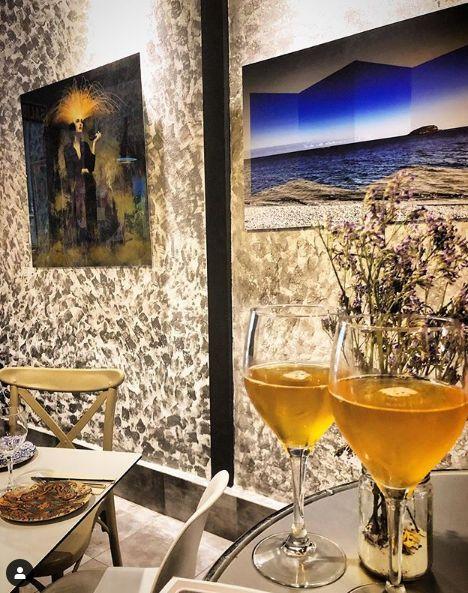 Restaurante ecológico y exposiciones de arte