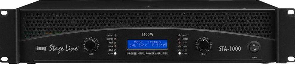 Amplificador estereo profesional STA-1000: Nuestros productos de Sonovisión Parla