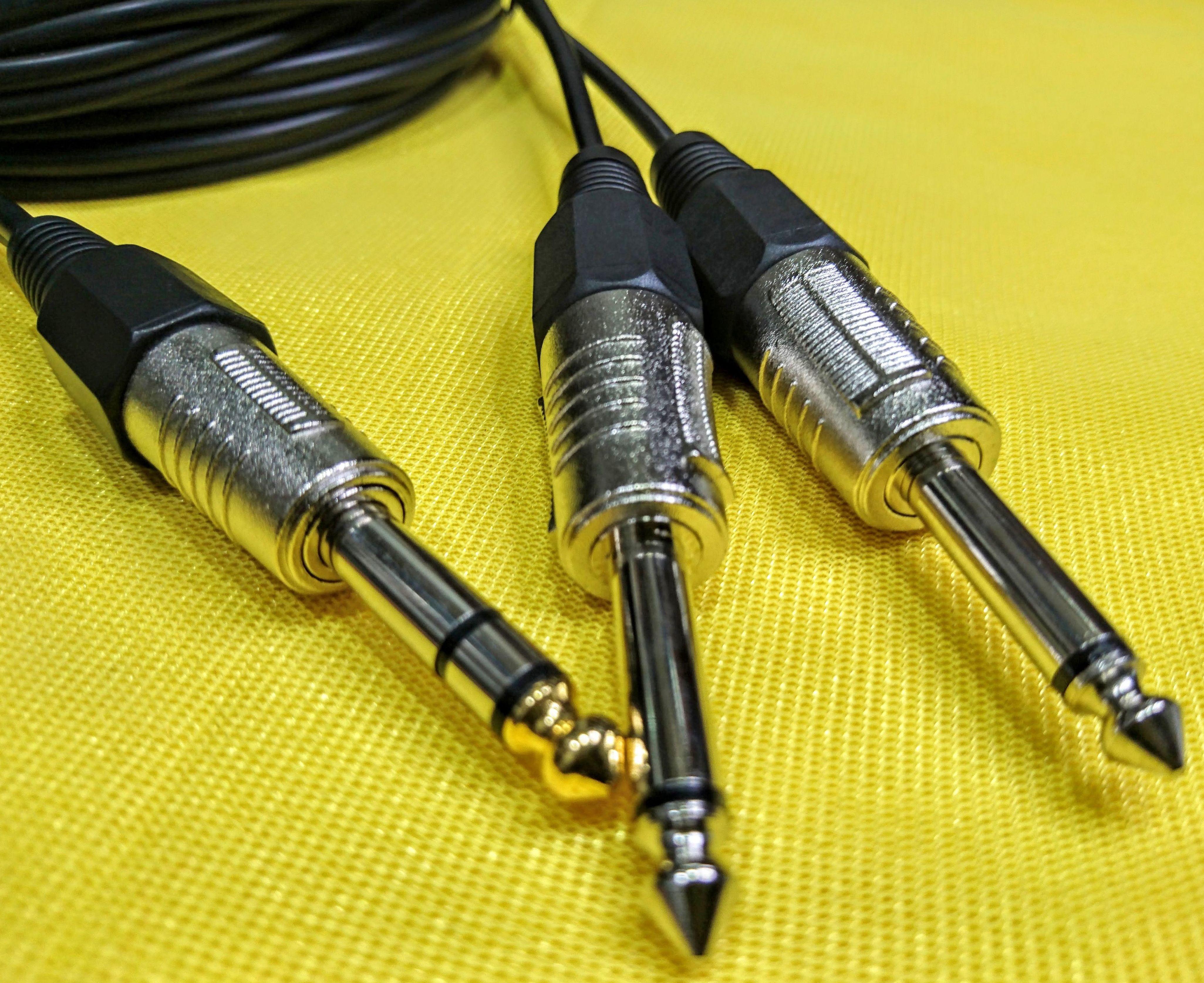 CABLE JACK 6.3 BALANCEADO A 2 JACK 6.3 MONO: Nuestros productos de Sonovisión Parla
