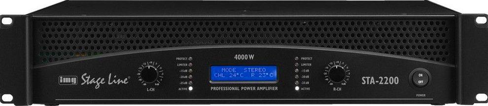 Amplificador estereo profesional STA-2200: Nuestros productos de Sonovisión Parla