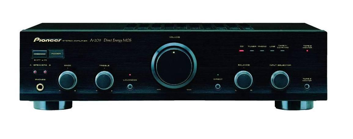 Amplificador hifi Pioneer A-209R: Nuestros productos de Sonovisión Parla