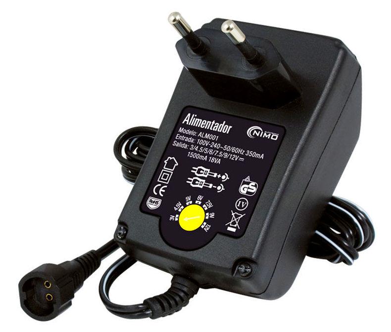 ALM001    --    3/4.5/6/7.5/9/12V-1.5A/DC: Nuestros productos de Sonovisión Parla