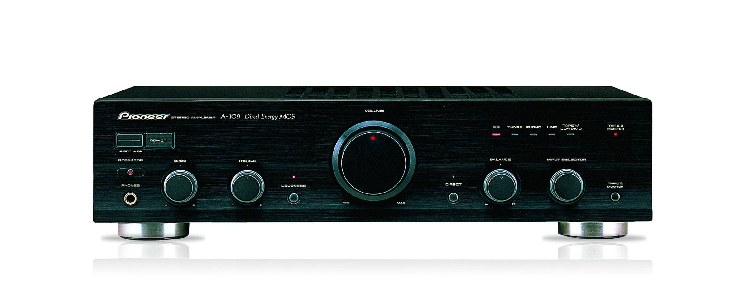 Amplificador hifi Pioneer A-109: Nuestros productos de Sonovisión Parla