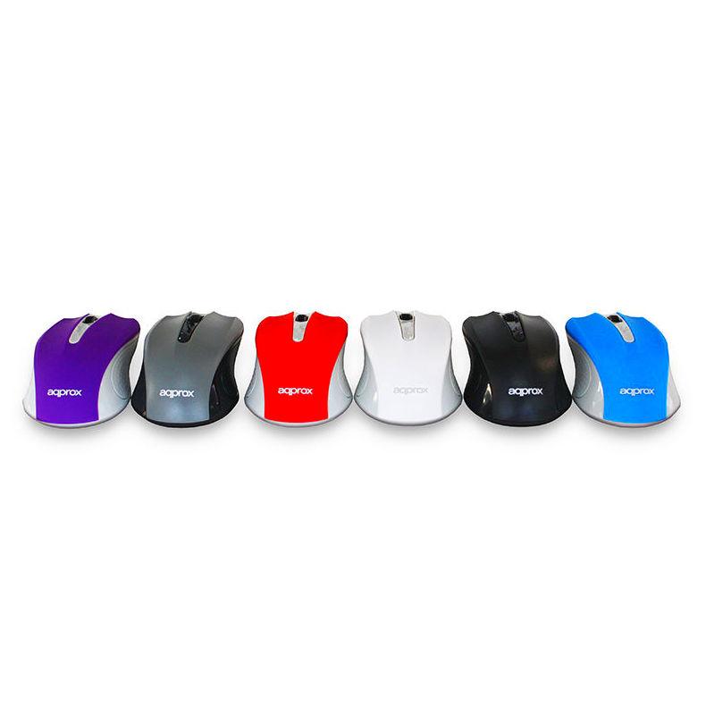 RATON OPTICO CON CABLE 6COLORES DISPONIBLES APPOMLITE: Nuestros productos de Sonovisión Parla