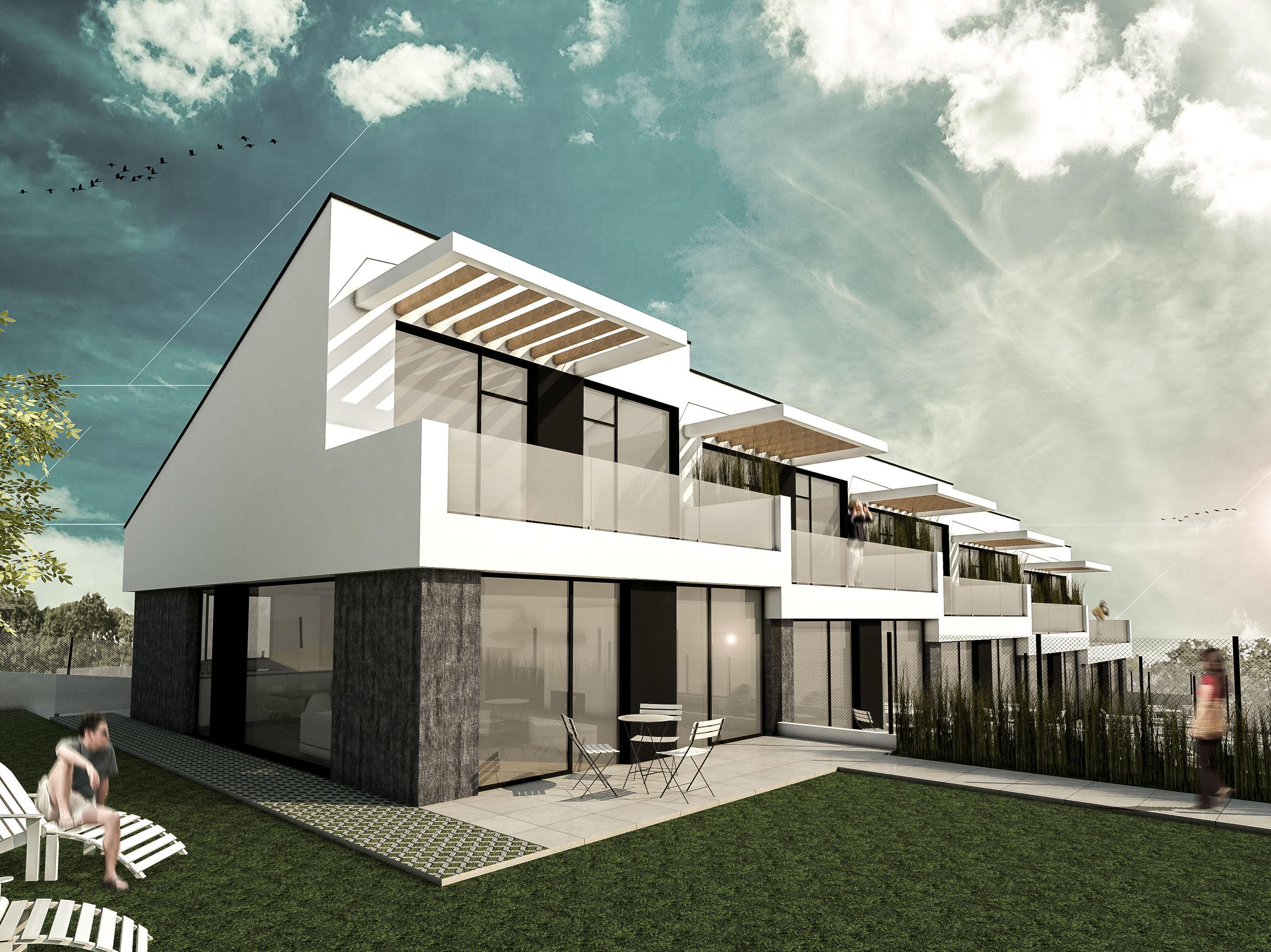 BIZKAIKO EXTEAK BEK 9, S.COOP.            5 viviendas adosadas en hilera_Sector Asu de SOPELA