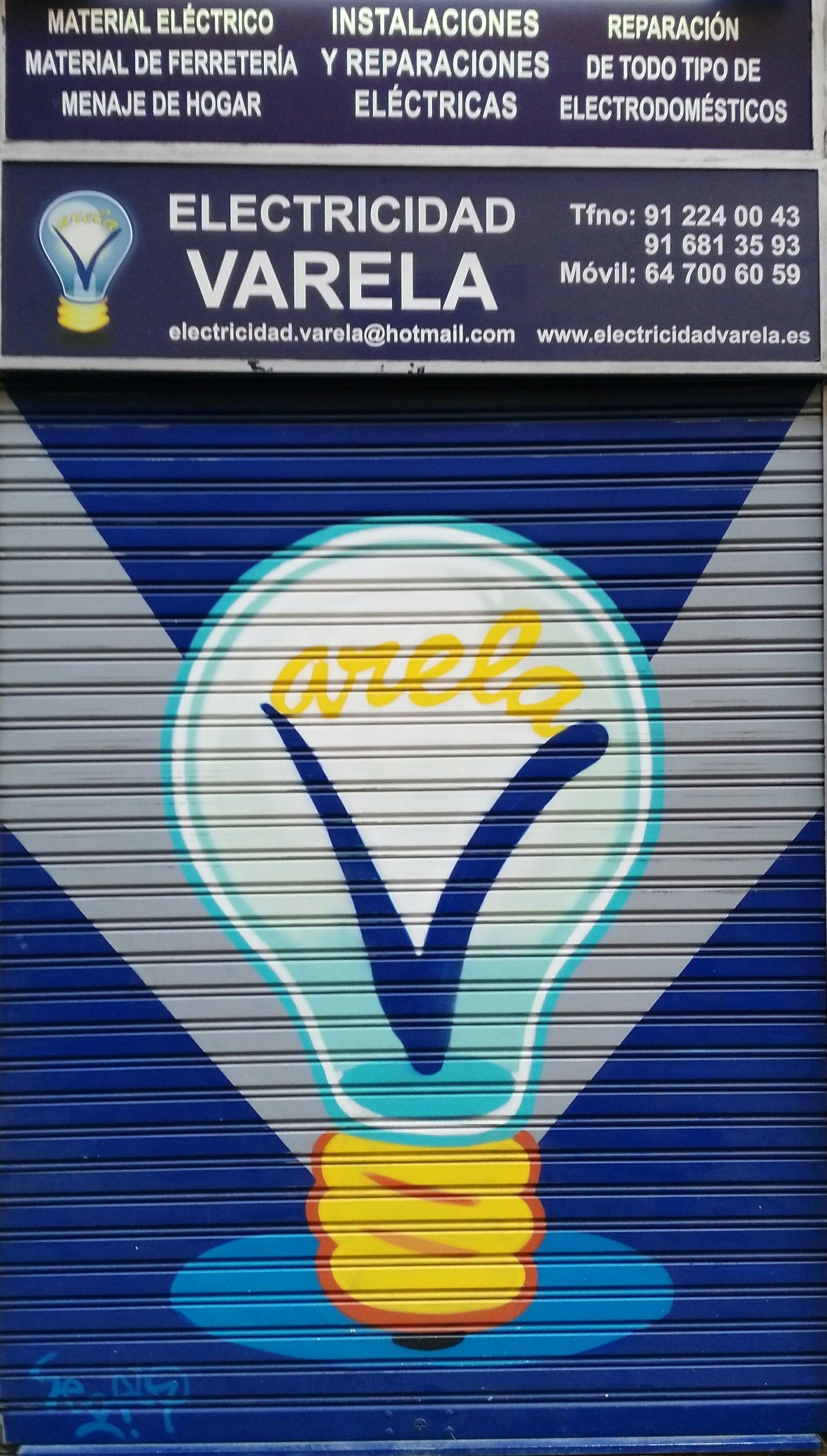 Foto 1 de Electricidad en Madrid | Electricidad Varela