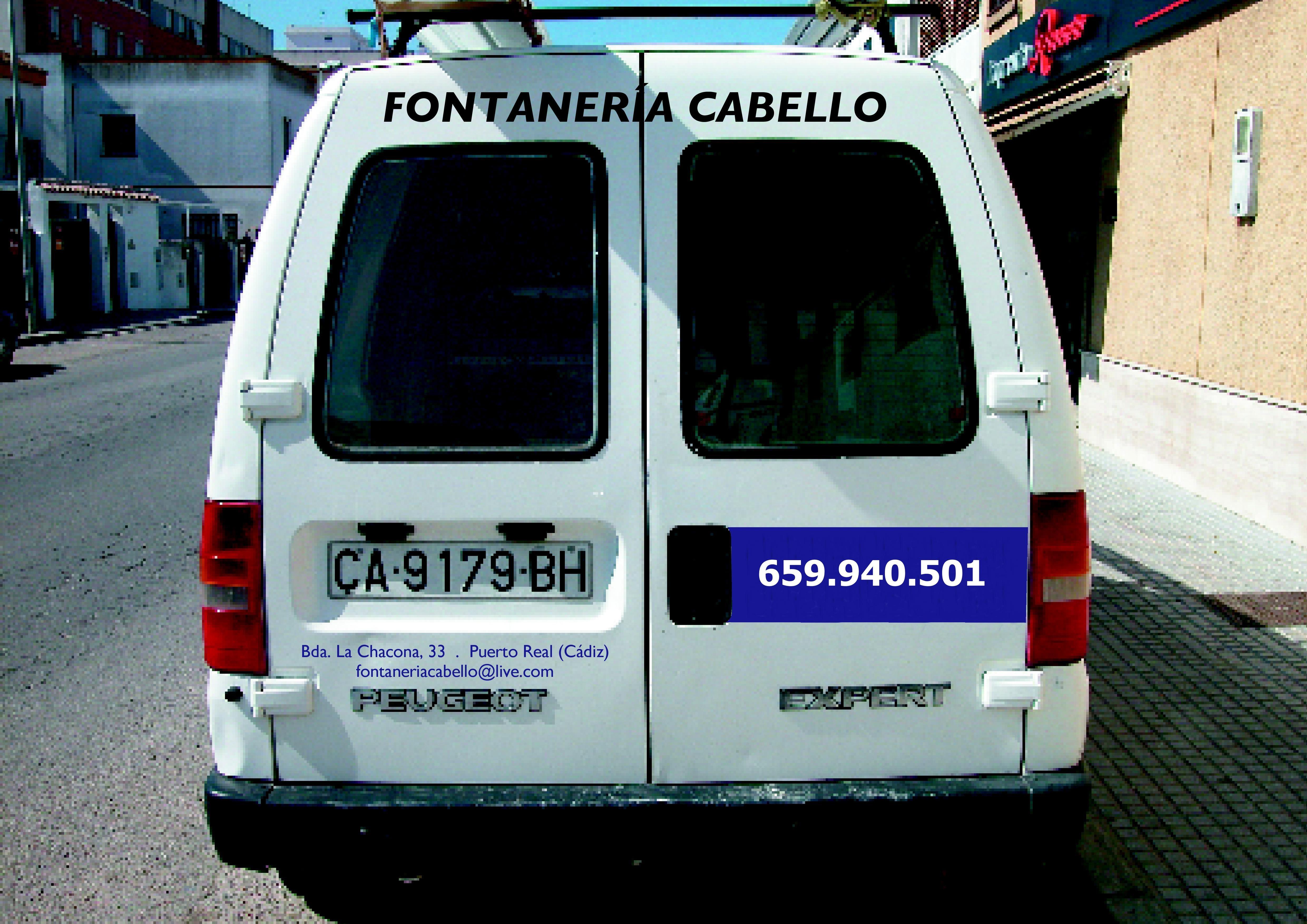 Foto 20 de Fontaneros en Cadiz | Fontaneria cabello S,L.