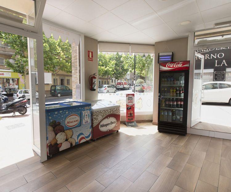 Establecimiento de comida para llevar en Zaragoza