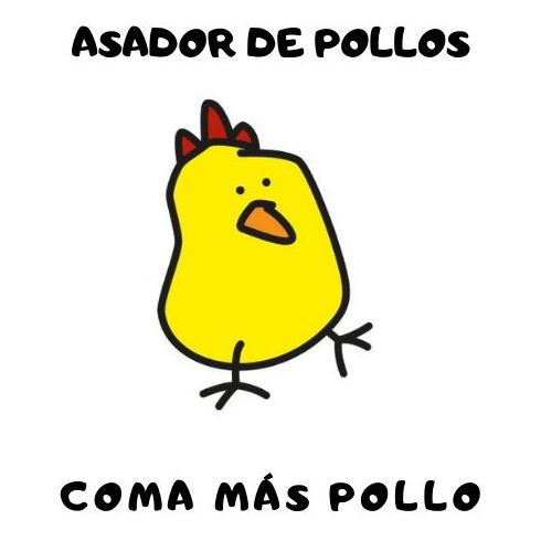 ASADOR DE POLLOS  COMA MÁS POLLO