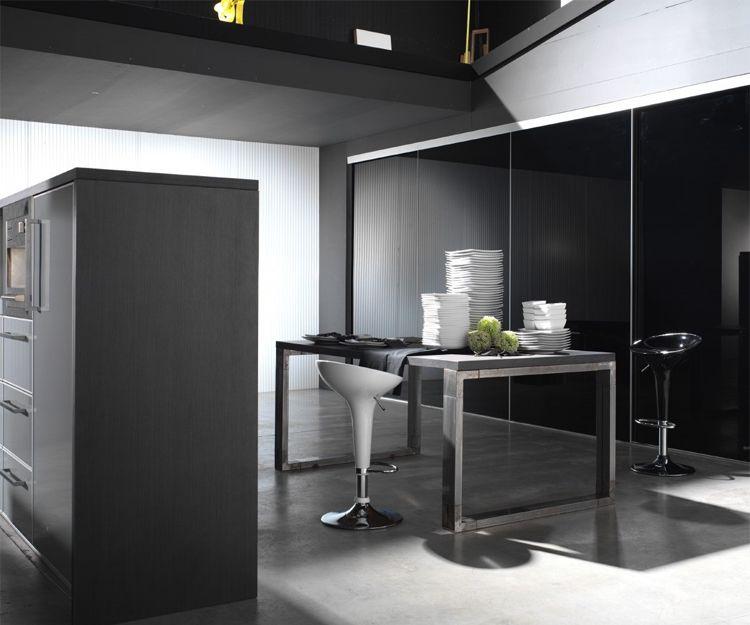 Los armarios de cocina con diferentes estilos