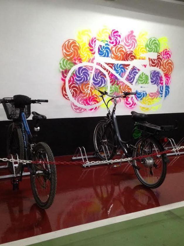 Servicio Aparca bicis en Logroño