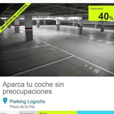 dónde aparcar en Logroño