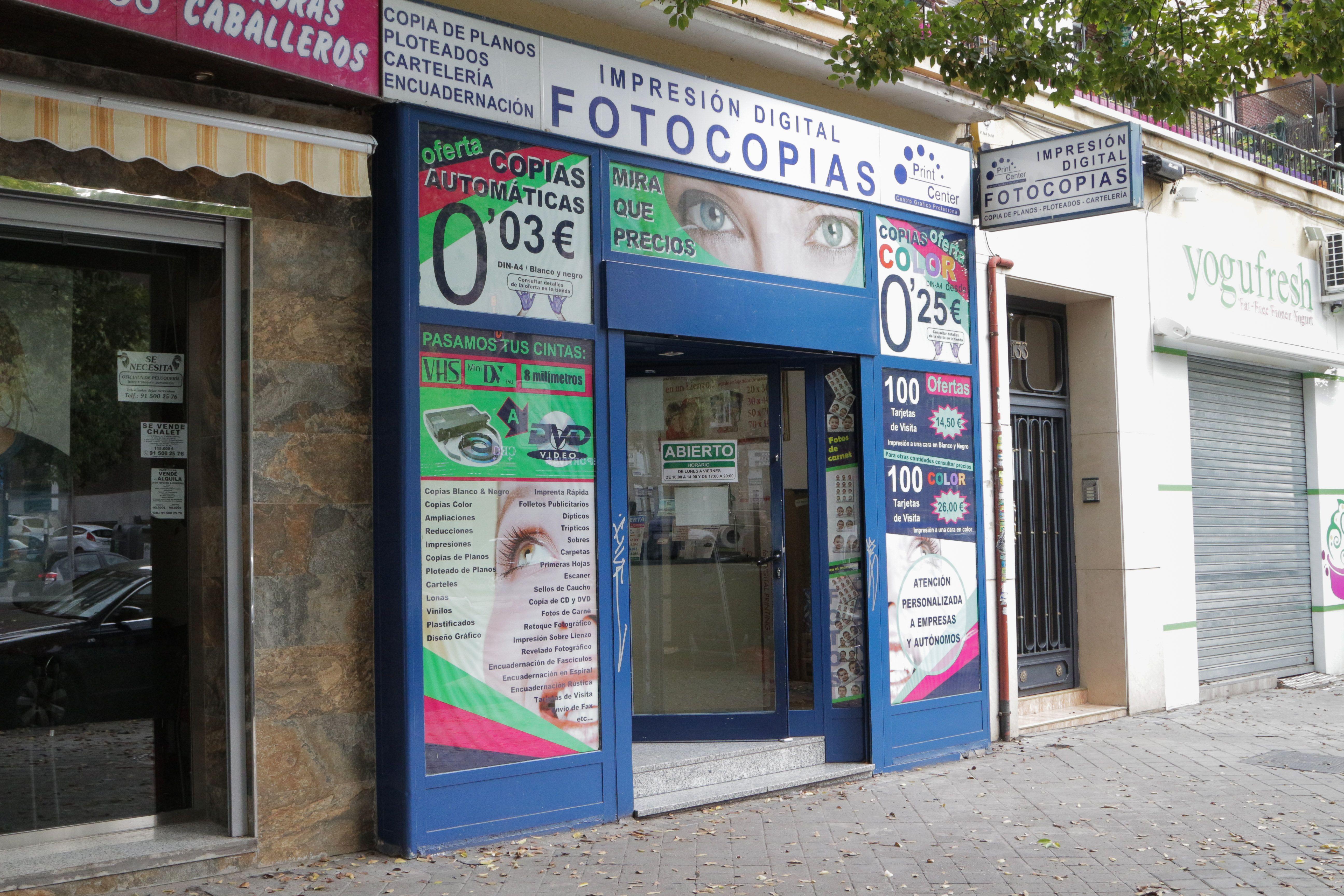 Foto 3 de Reprografía en Madrid | Print Center