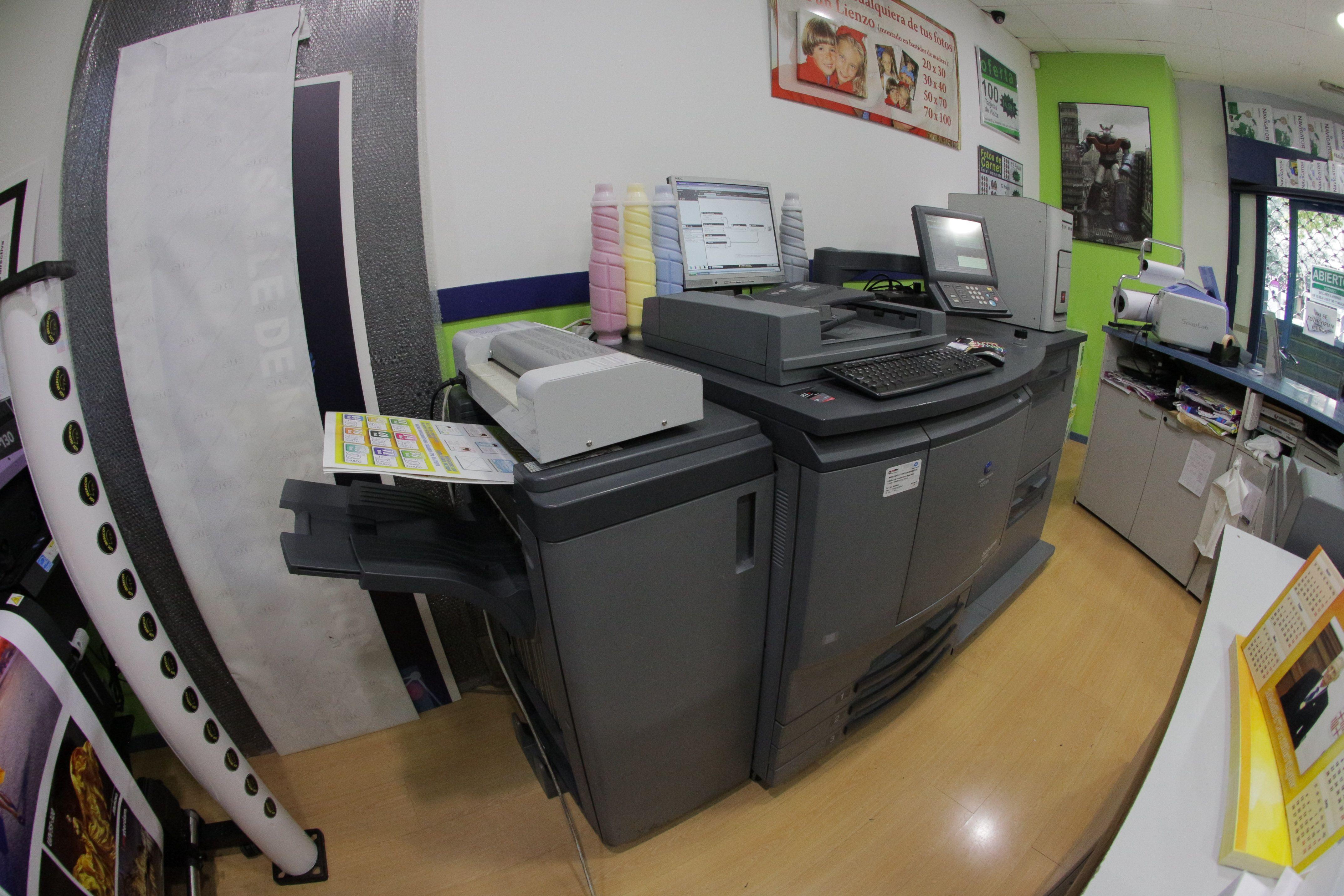 Foto 13 de Reprografía en Madrid   Print Center