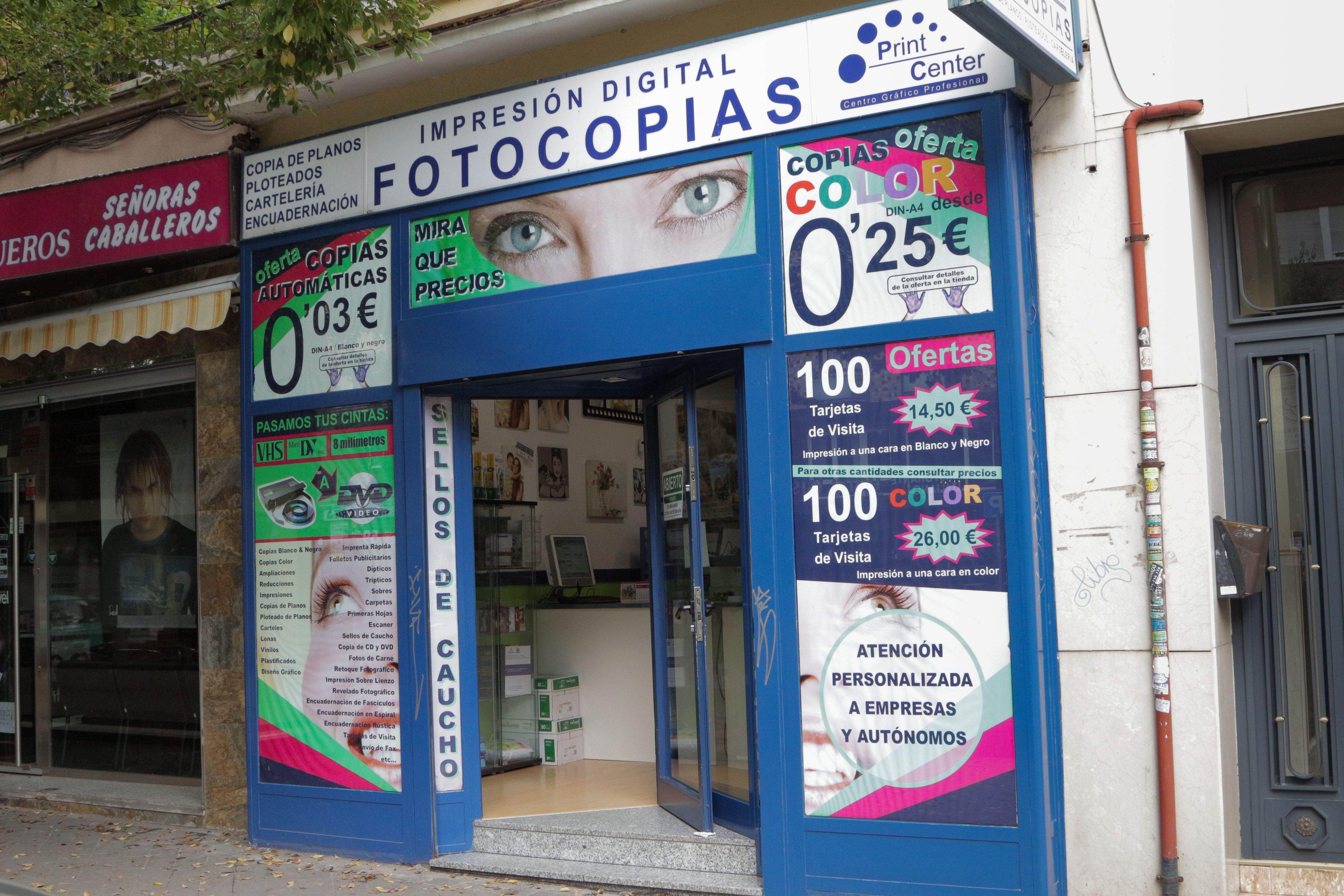 Foto 5 de Reprografía en Madrid | Print Center