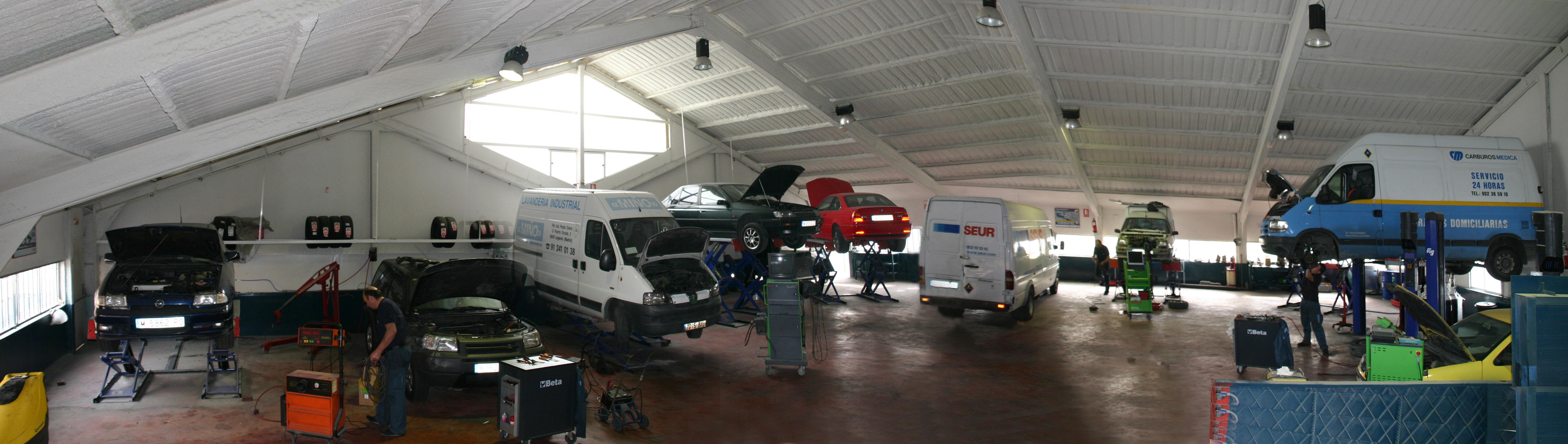 Foto 3 de Talleres de automóviles en Leganés | Diesel Prado Overa