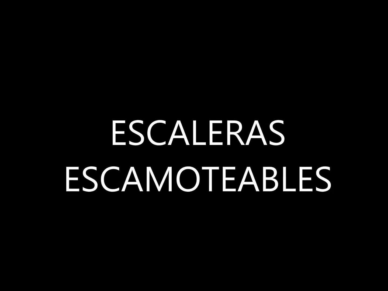 Vídeos de escaleras escamoteables: PRODUCTOS de CARPINTERIA MAZUSTEGUI S.L }}