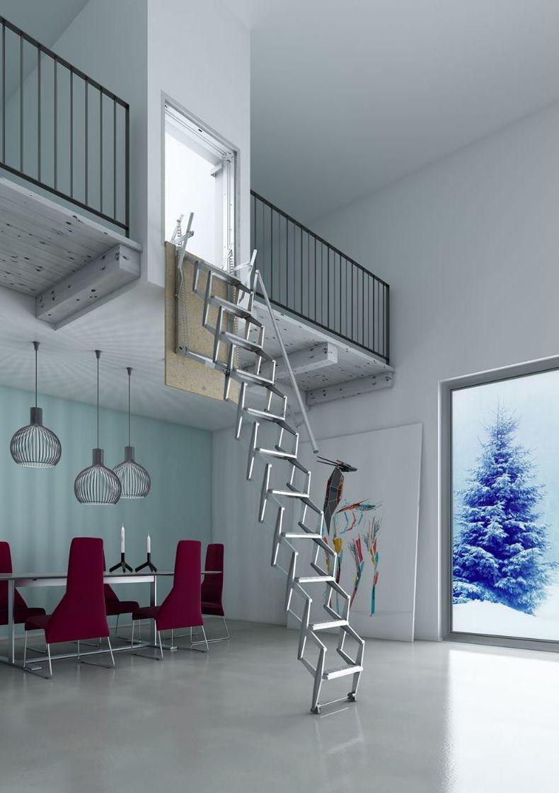 Escaleras plegables de pared en bizkaia productos de for Escaleras plegables extensibles