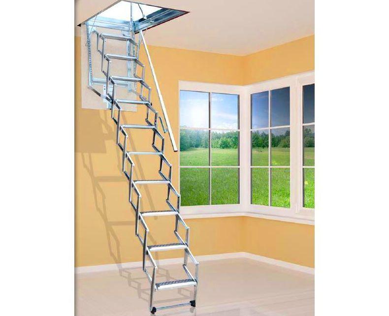 Escaleras para techos en bizkaia productos de carpinteria mazustegui s l - Escalera de techo ...