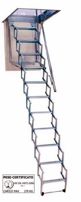 Escalera escamoteable