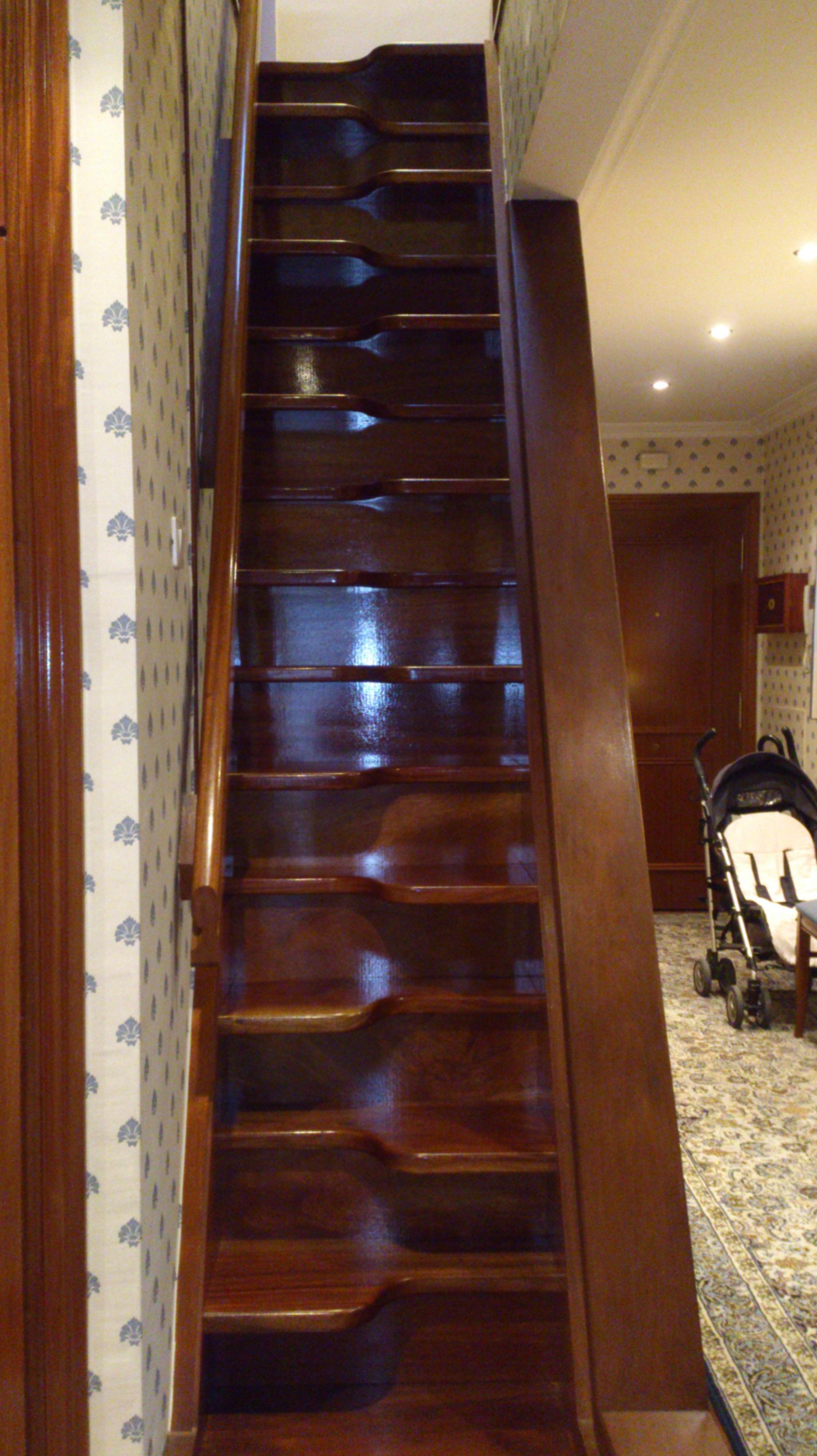 escalera para espacio reducido