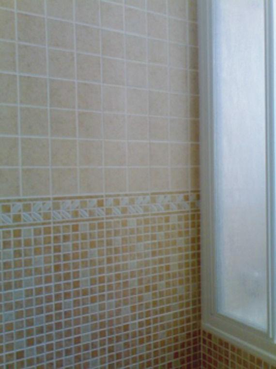 Chapado decorativo de baños.