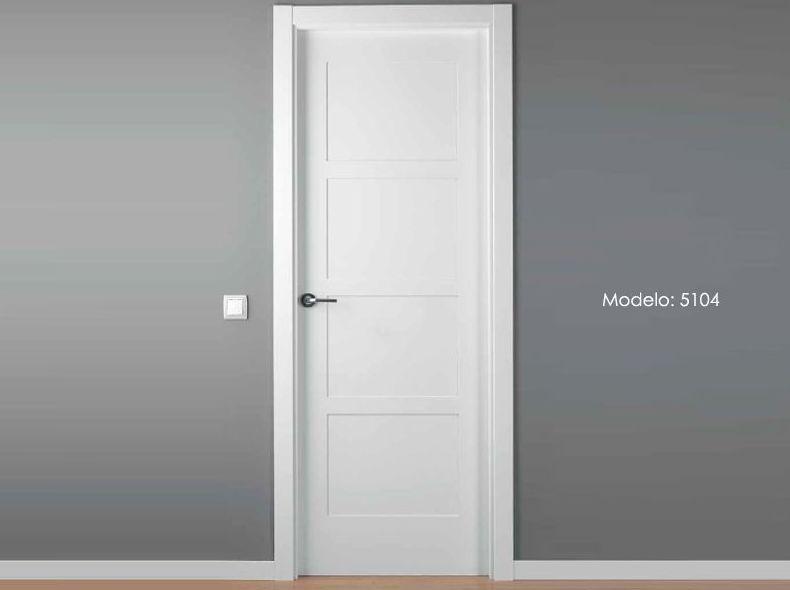 Modelo 5104 Puerta lacada de calidad estándar