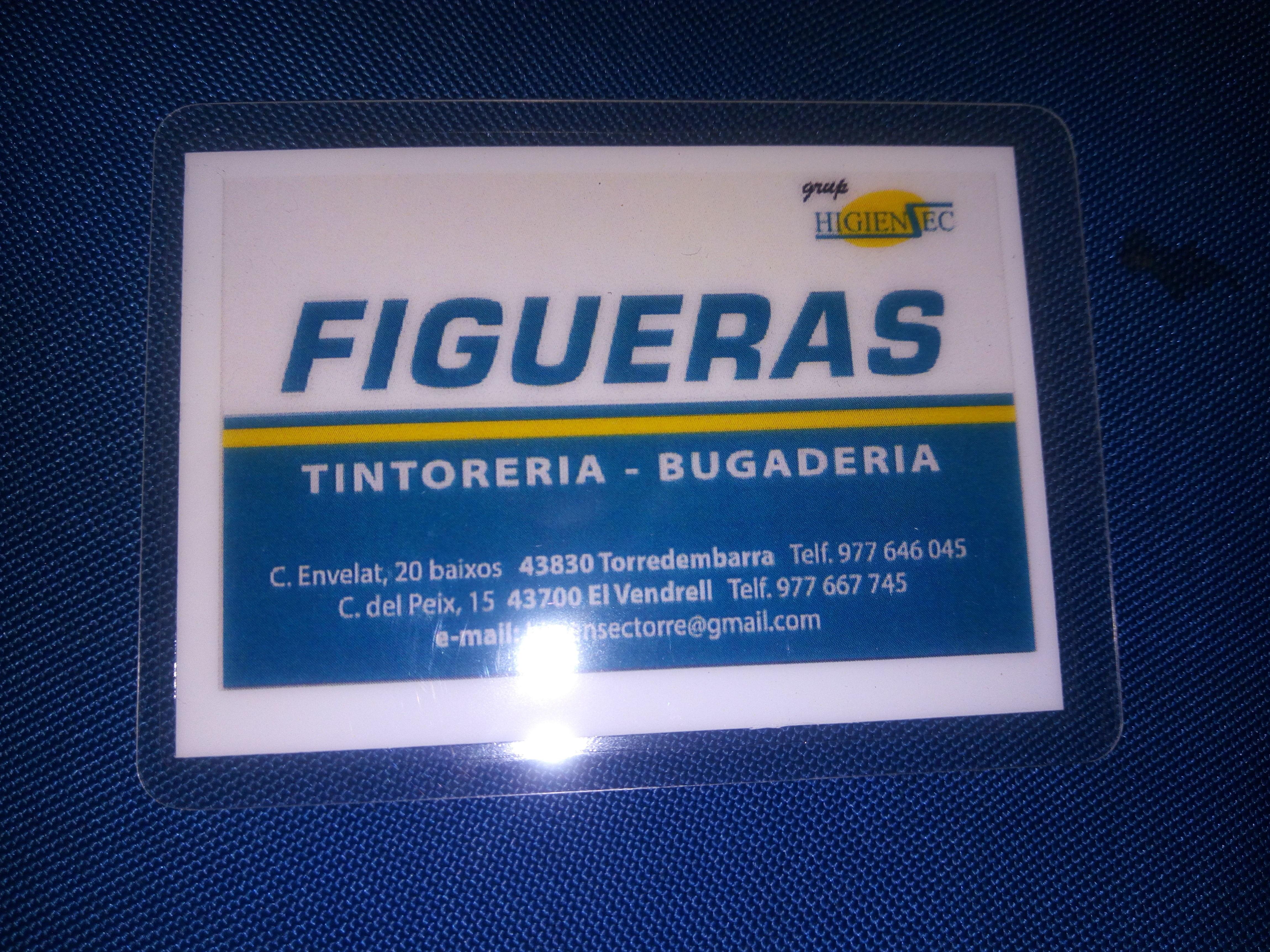 Foto 5 de Tintorerías y lavanderías en Torredembarra | Figueras - Tintoreria-Bugaderia