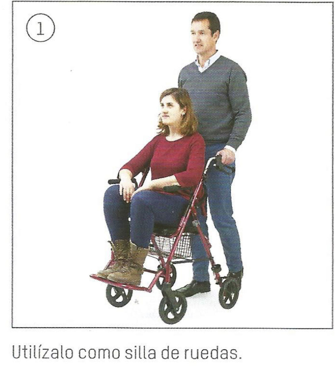 Andador classic duo: TIENDA ONLINE de Ortopedia La Fama