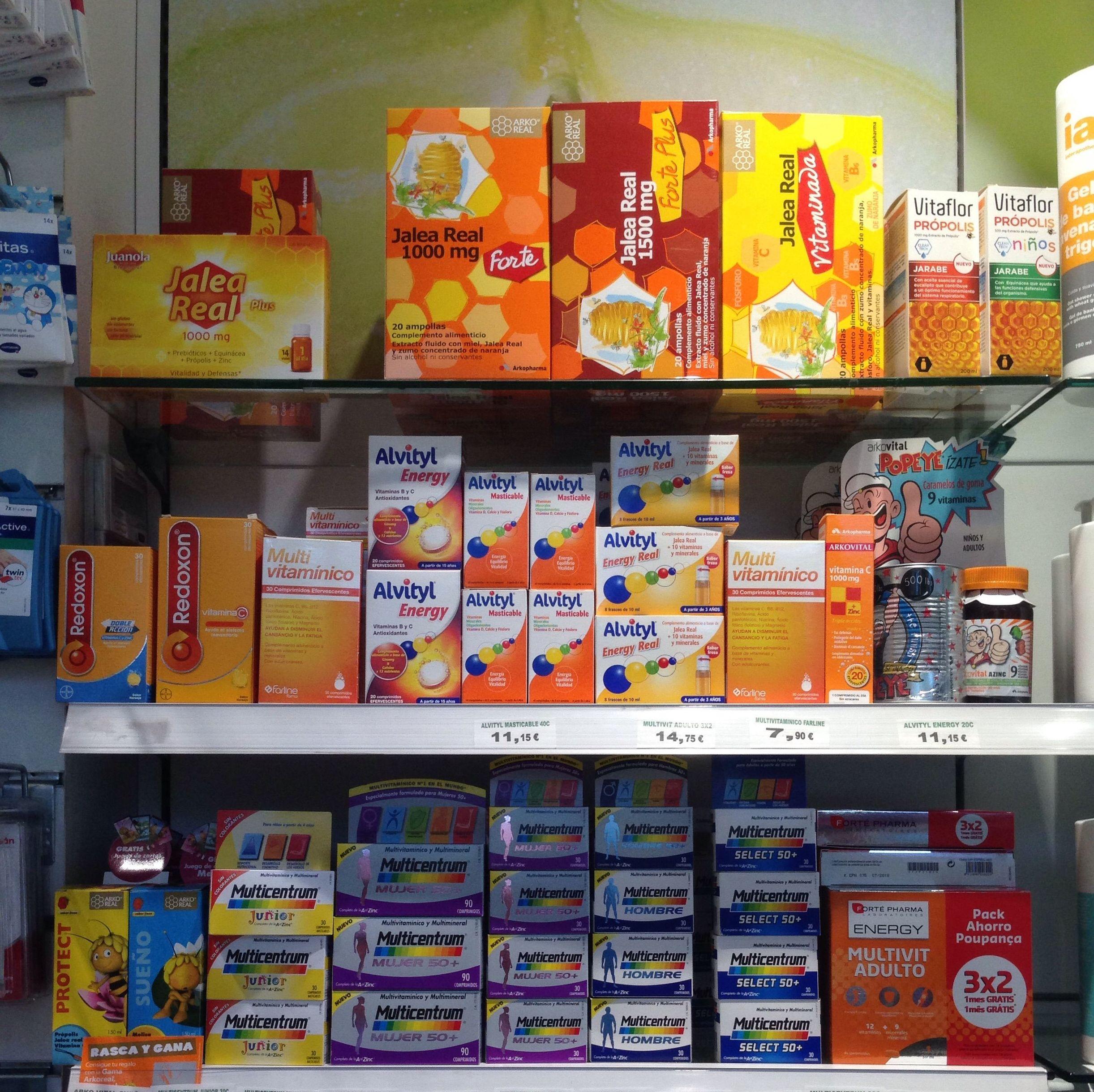 Vitaminas Farmacia Betanzos