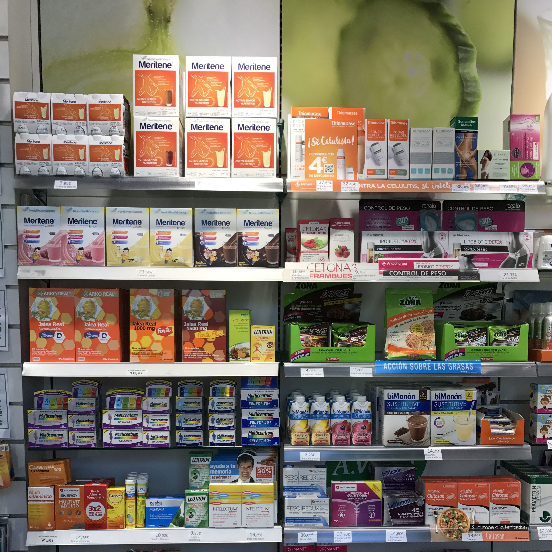 Nutrición y dietética farmacia ortopedia Betanzos