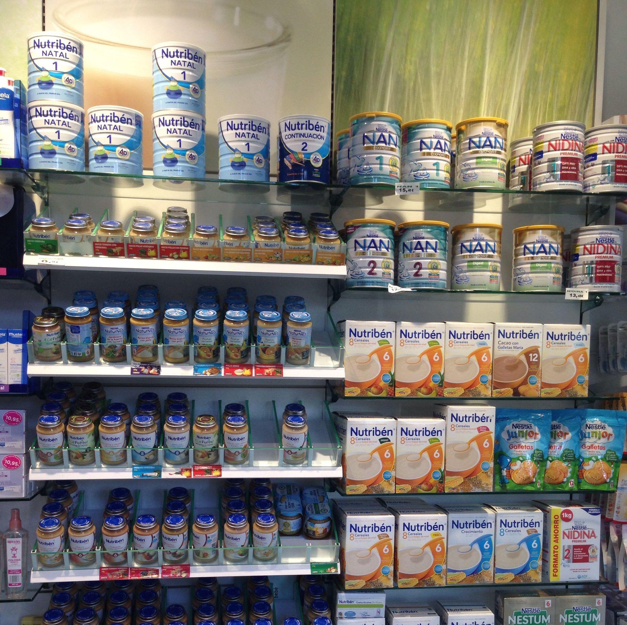 Nutrición infantil Farmacia Ortopedia Betanzos