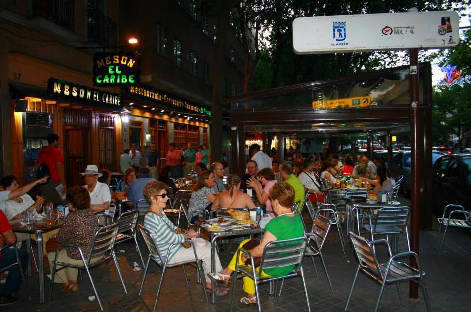 terraza Restaurante El Piornal