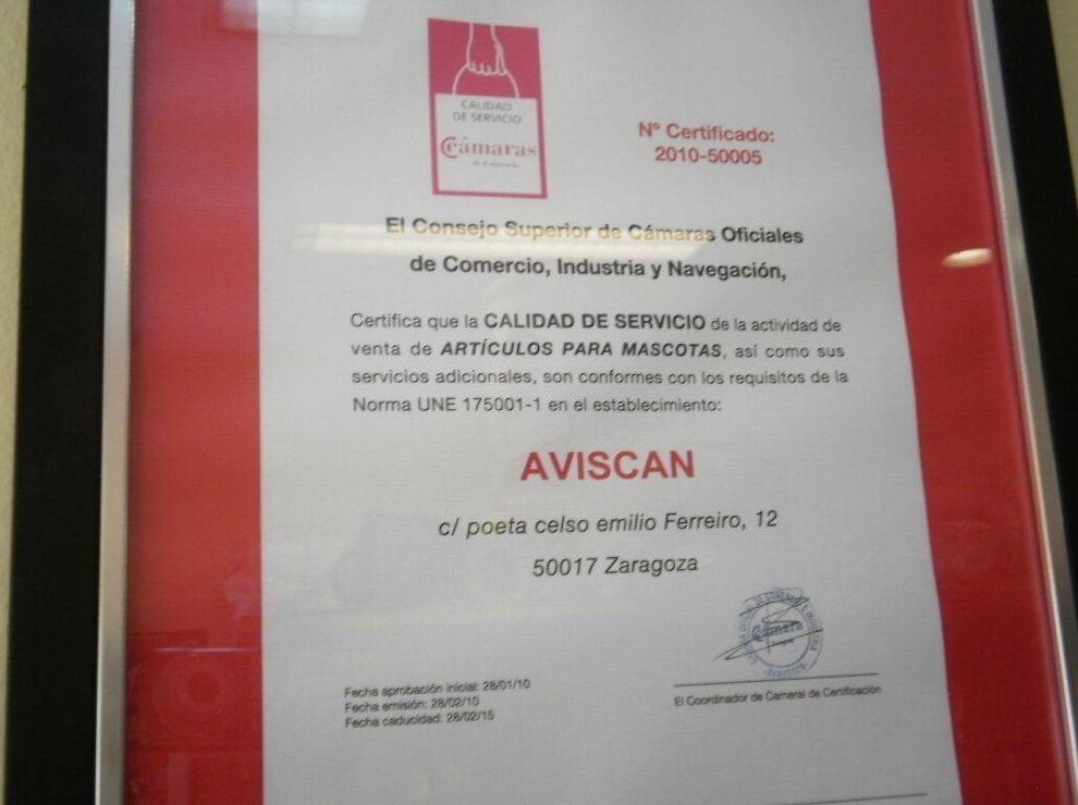 Sección comercial: Servicios de Aviscan Clínica Veterinaria