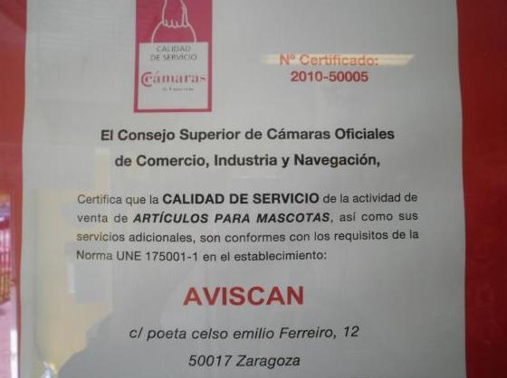 COMERCIO DE CALIDAD CERTIFICADA NORMA UNE