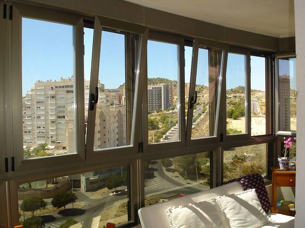 Fabricación y montaje de ventanas en aluminio y PVC en Salamanca