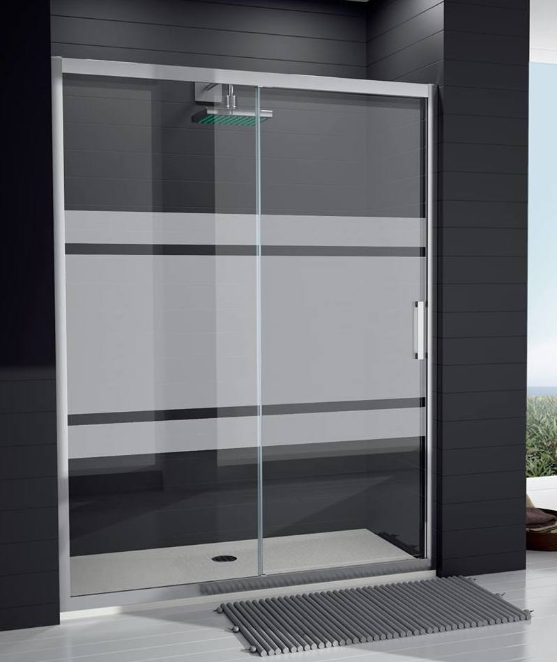 Mamparas de ducha en aluminio