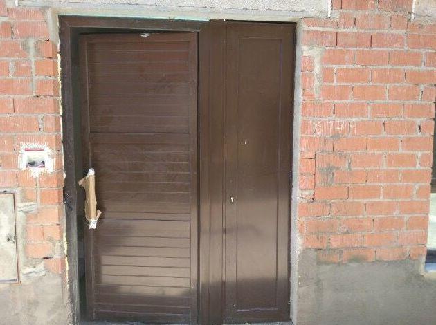 Puerta de entrada de aluminio!!
