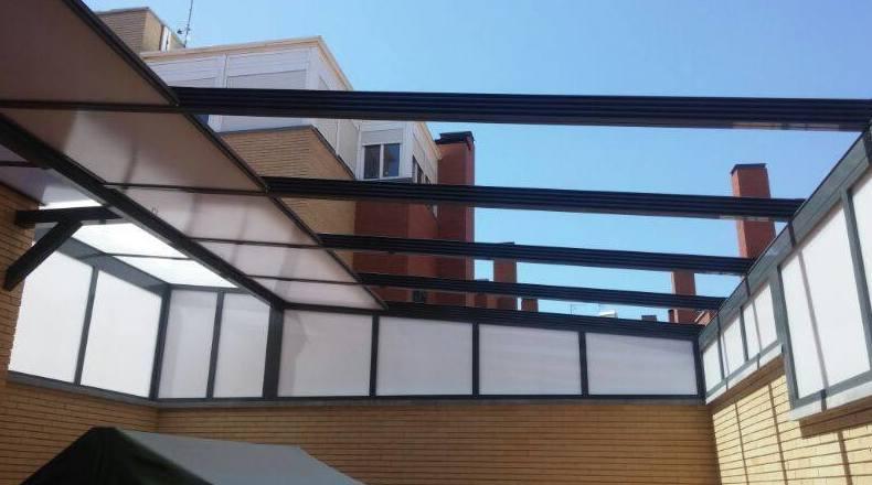 Cerramientos acristalados y corredizos en Salamanca